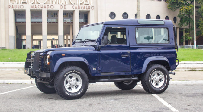 2001 Land Rover Defender 90 a venda