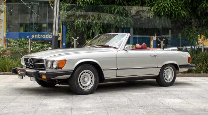 1974 Mercedes Benz 450SL A VENDA
