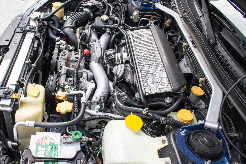 2000 Subaru Forester WRX Swap