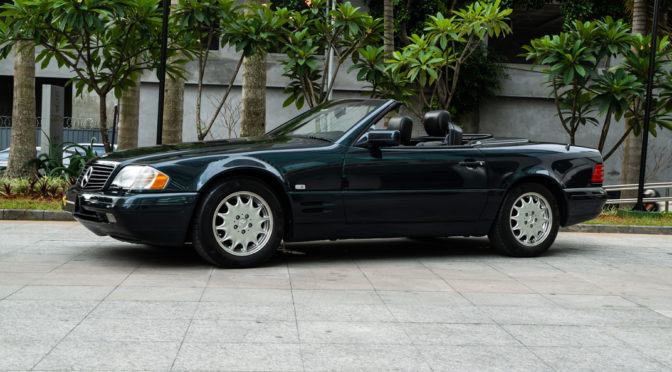1997 Mercesdes Benz SL320
