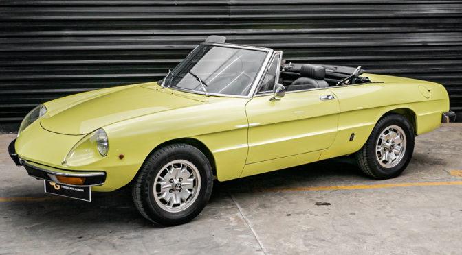 1974 Alfa Romeo Spider 2000
