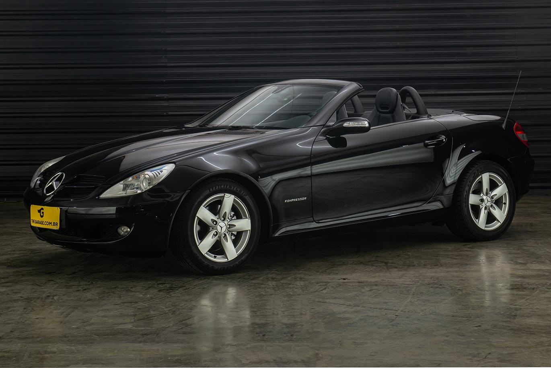 2006-Mercedes-Benz-SLK200-Kompressor-a-venda-sao-paulo-sp-for-sale-the-garage-classicos-a-melhor-loja-de-carros-antigos-acervo-de-carros-4